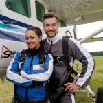 Fallschirmsprung für Malte und Caro